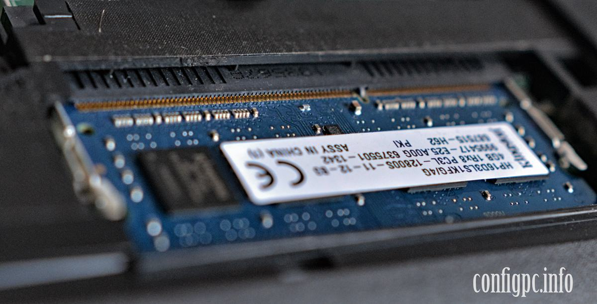 alegere memorie RAM laptop